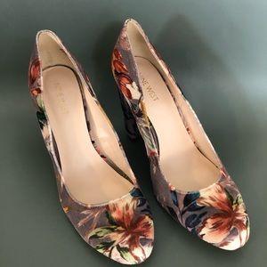 Nine West Leroux Velvet Heels Women's Size 9.5